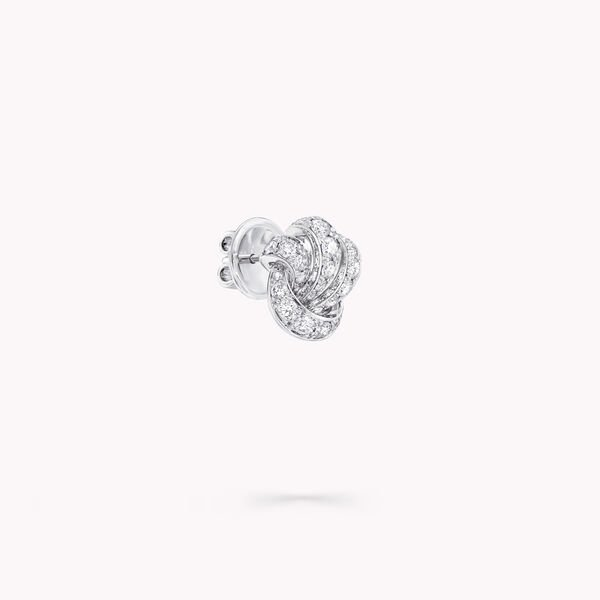Tilda's Bow Pavé Diamond Stud Earrings, , hi-res