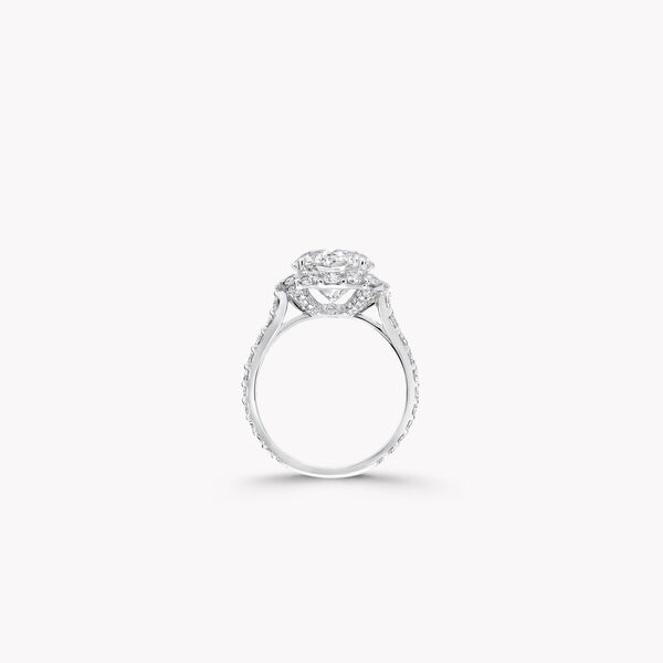 Bague de fiançailles ronde en diamants Icon, , hi-res