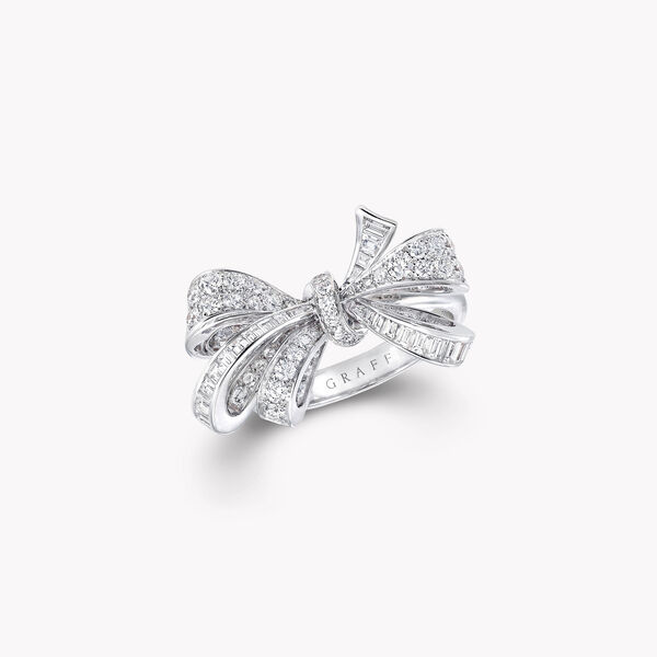 Bow Diamond Ring, , hi-res