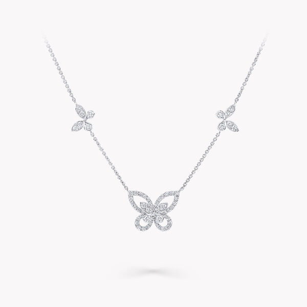 Pendentif en diamants Multi Butterfly Silhouette, , hi-res