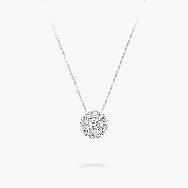Pendentif rond en diamants Icon, , hi-res