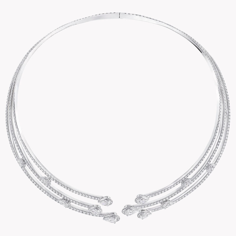 Duet Multi-strand Diamond Necklace, , hi-res