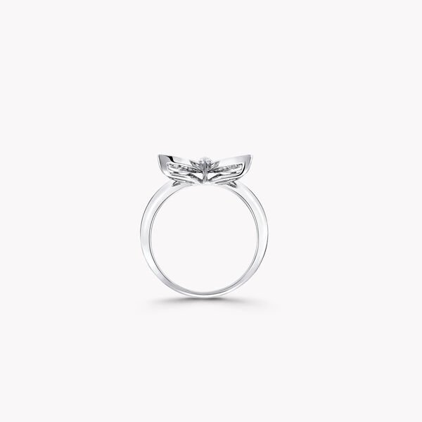 Mini bague en diamants Pavé Butterfly, , hi-res