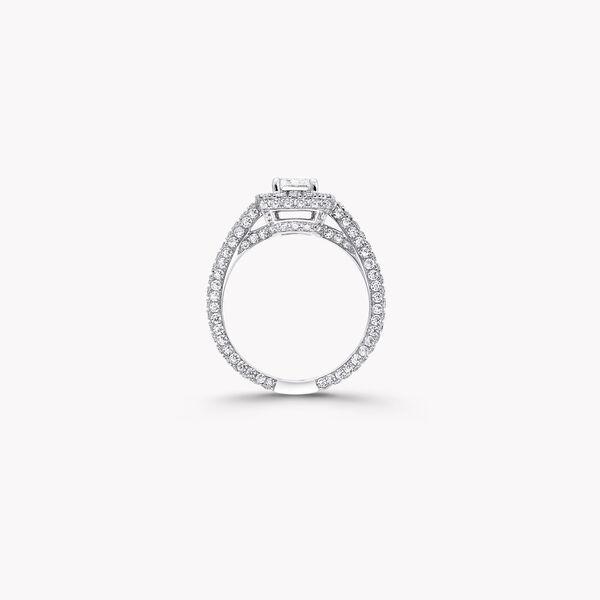 Constellation祖母綠形切割鑽石訂婚戒指, , hi-res