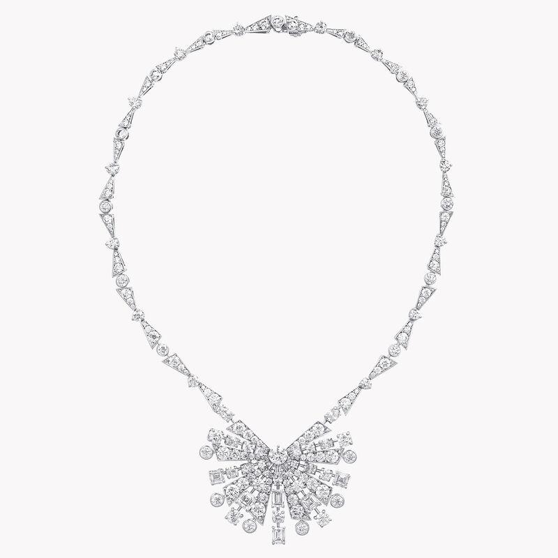 Solar Diamond High Jewellery Necklace, , hi-res