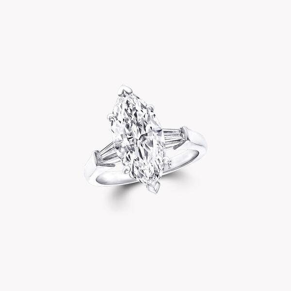 Promise Marquise Cut Diamond Engagement Ring, , hi-res