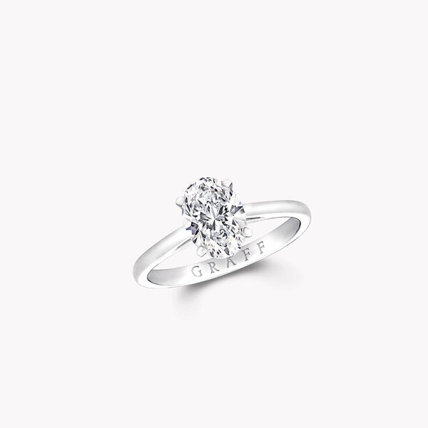 Bague de fiançailles ovale en diamants Paragon, , hi-res
