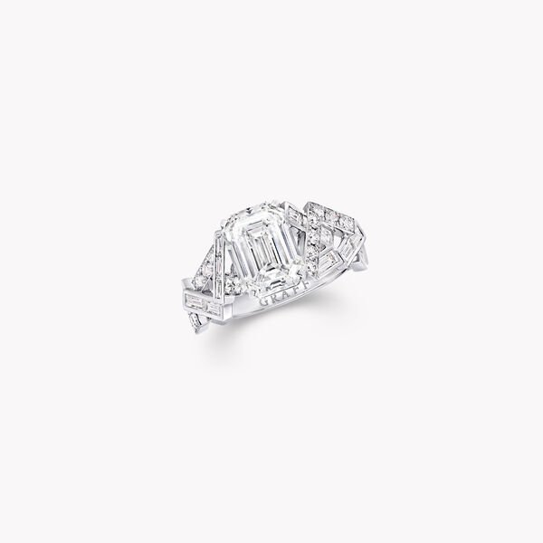 Threads Solitaire Diamond Ring, , hi-res