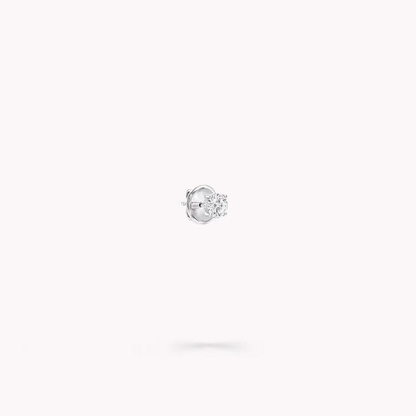 Clous d'oreilles ronds en diamants, , hi-res