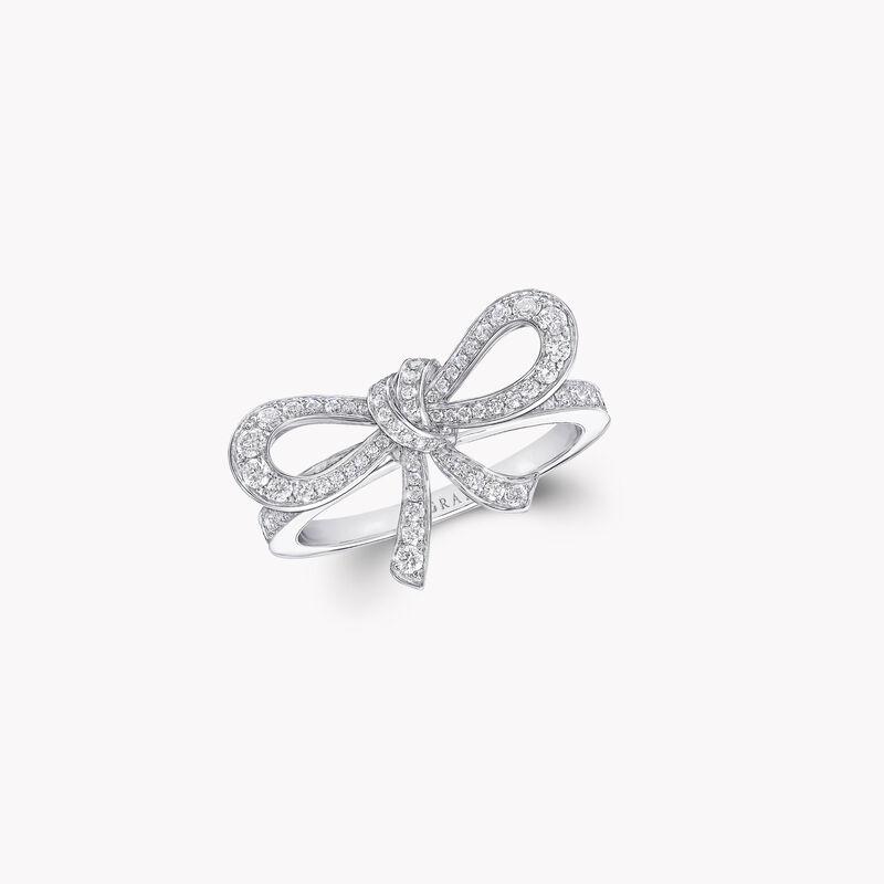 Tilda's Bow Mini Diamond Ring, , hi-res
