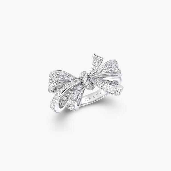 Bow Diamond Ring, , hi-res