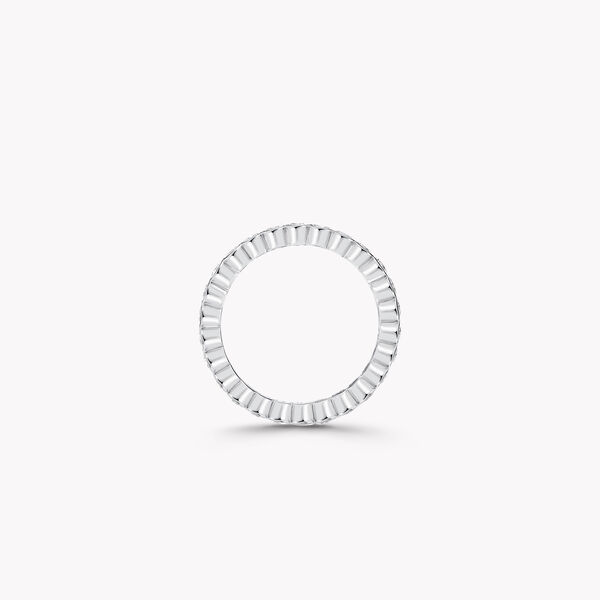 Bezel Set Round Diamond Wedding Band, , hi-res