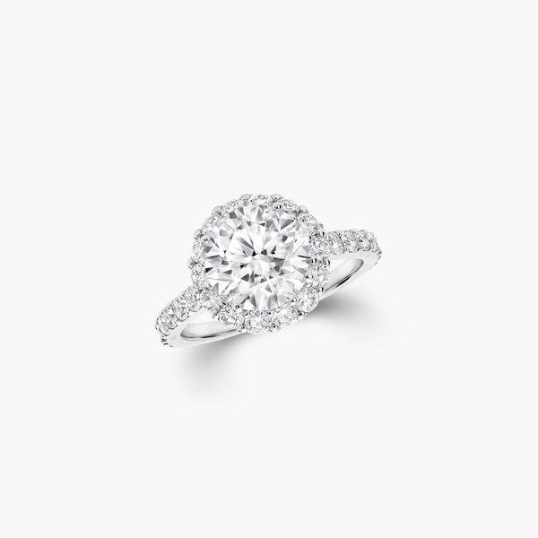 Icon Round Diamond Ring, , hi-res