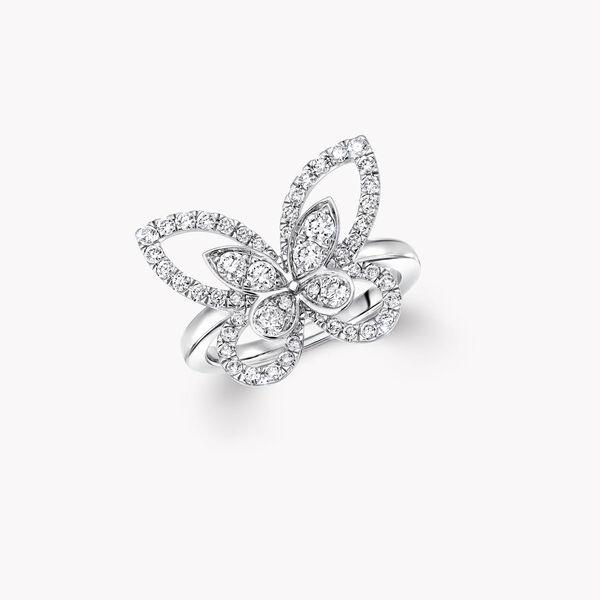 Bague en diamants Butterfly Silhouette, , hi-res