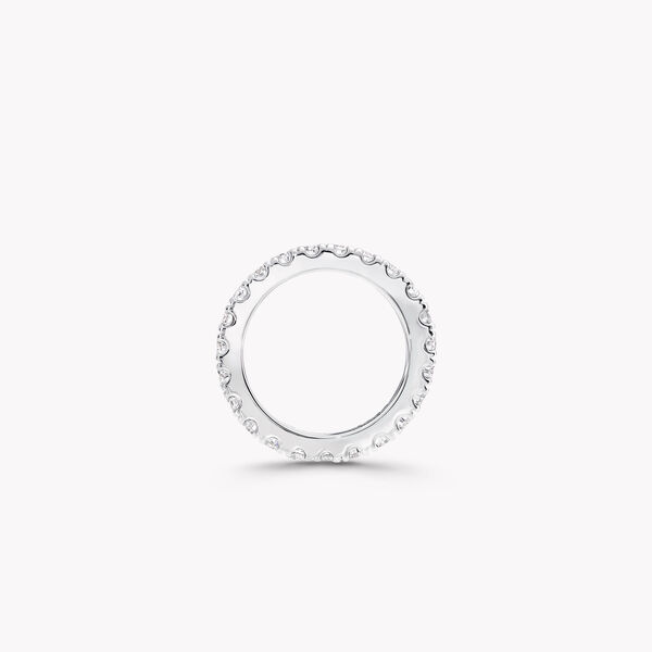 Castle Set Round Diamond Wedding Band, , hi-res