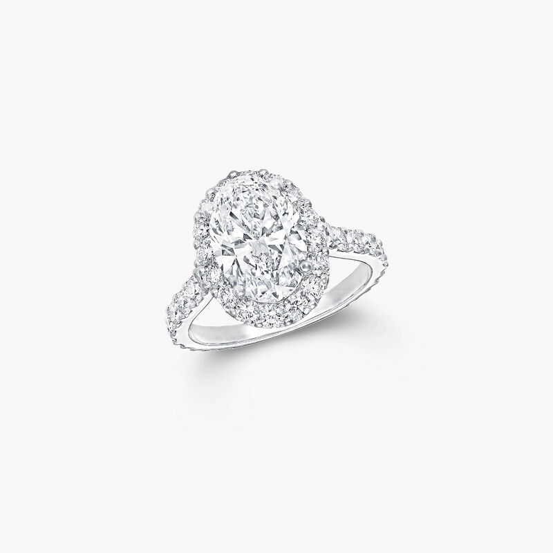 Icon Oval Diamond Engagement Ring, , hi-res