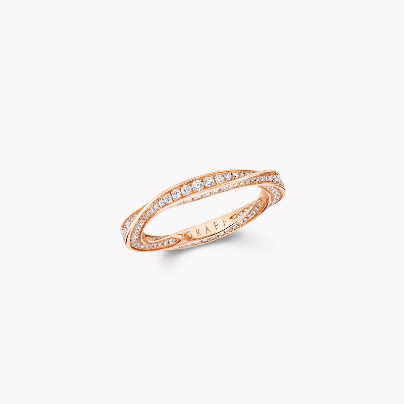 Spiral密鑲鑽石戒指, , hi-res