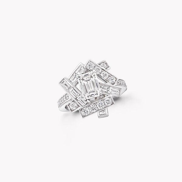 Threads Diamond Ring, , hi-res