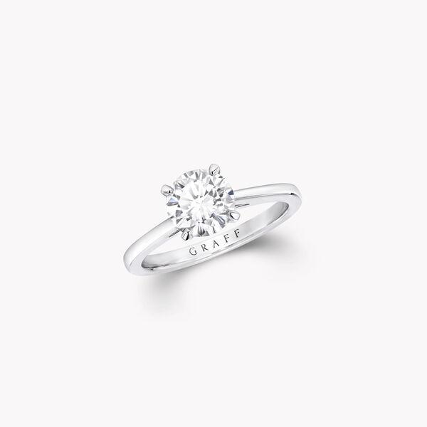파라곤 라운드 다이아몬드 인게이지먼트링, , hi-res