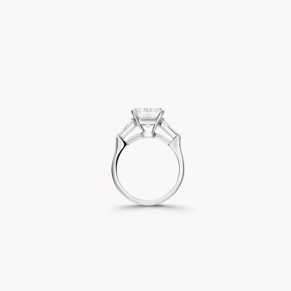 祖母綠形切割鑽石高級珠寶戒指, , hi-res