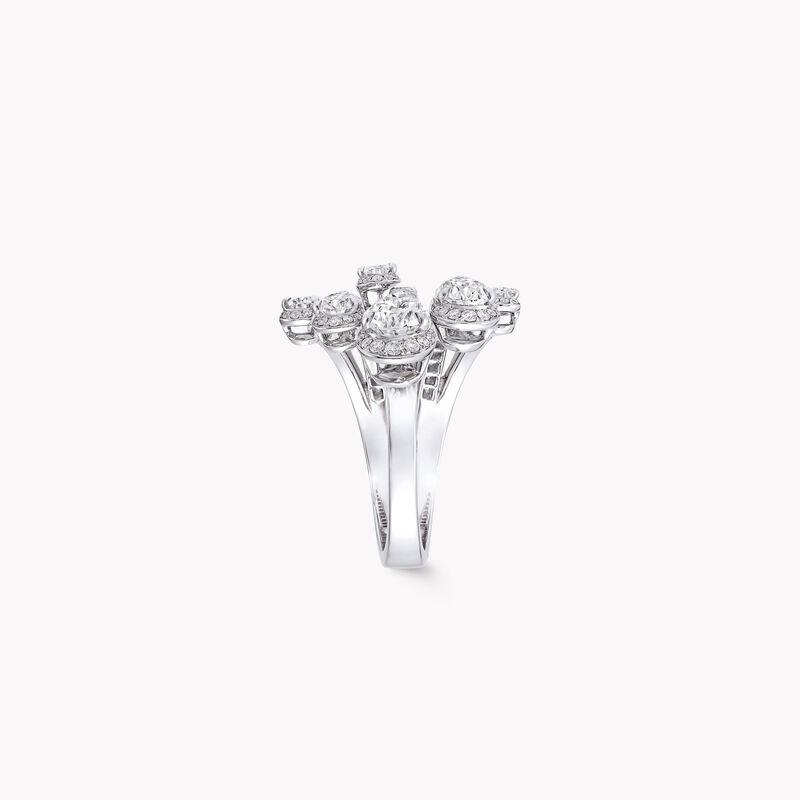 Duet Pear Shape Diamond Ring, , hi-res