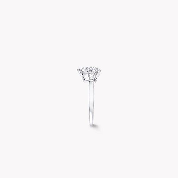 Bague de fiançailles en diamants en forme de cœur Promise, , hi-res