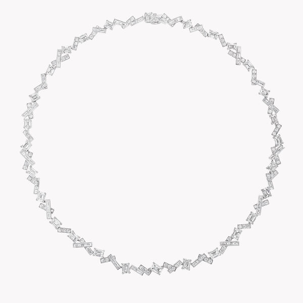 Threads Diamond Necklace, , hi-res