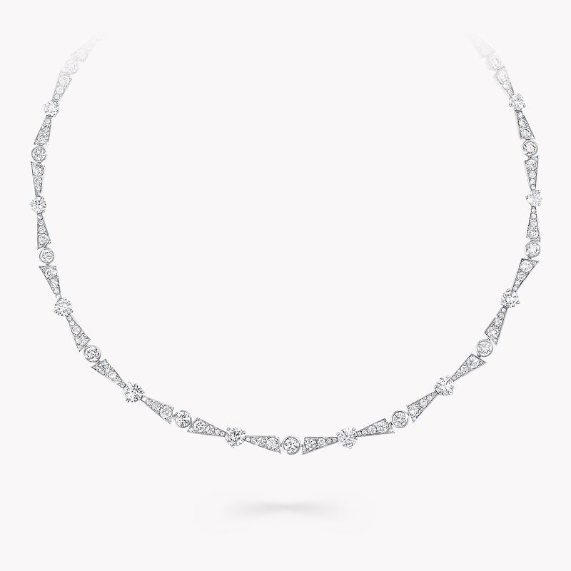 New Dawn Diamond Line Necklace, , hi-res