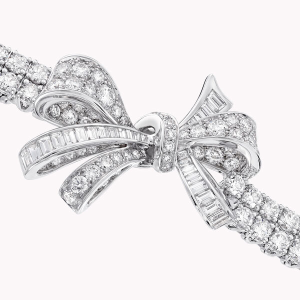 Bracelet en diamants double brin Tilda's Bow, , hi-res