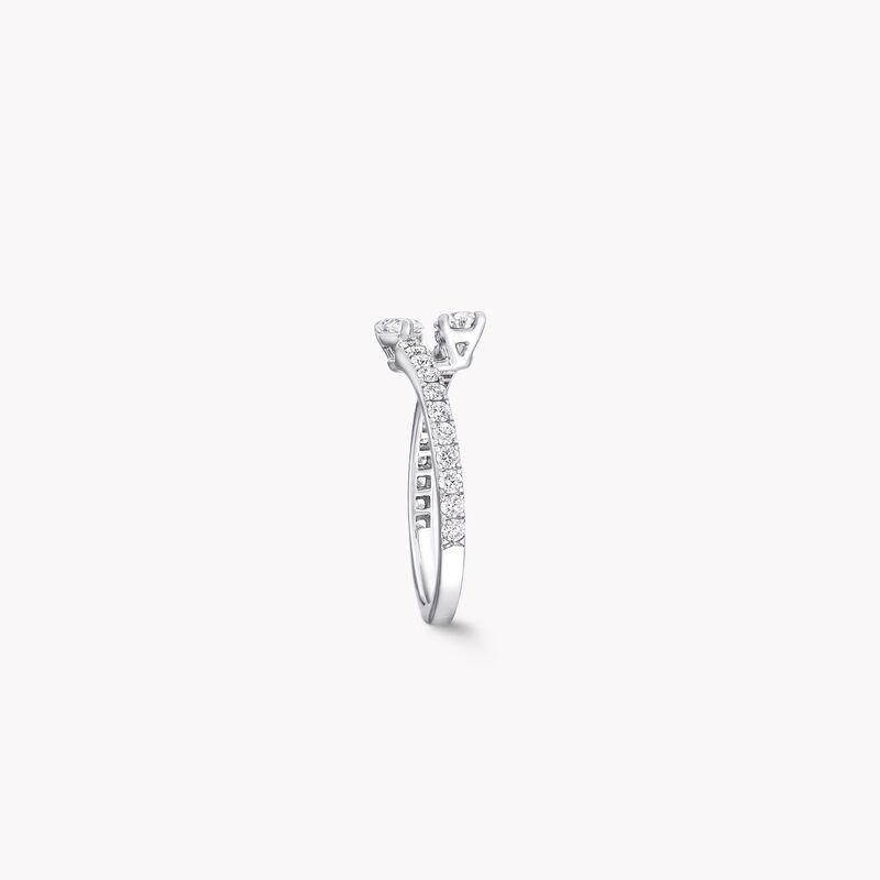 Duet钻石戒指, , hi-res