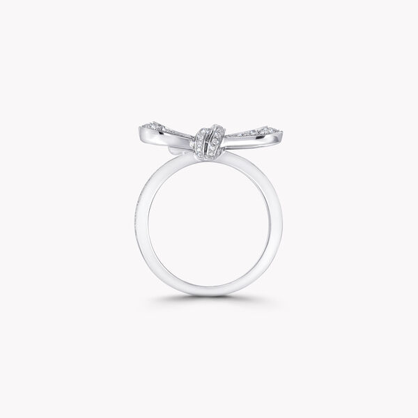 Tilda's Bow Mini Diamond Ring, , hi-res