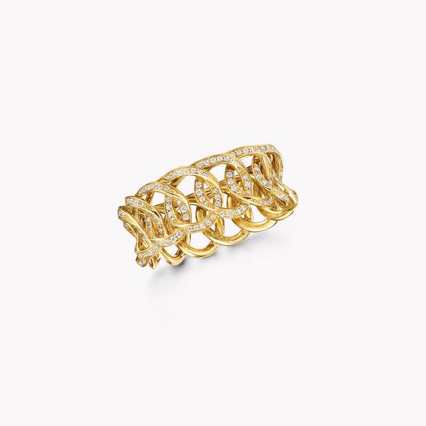 Anneau en pavés de diamants ronds Inspired by Twombly, , hi-res