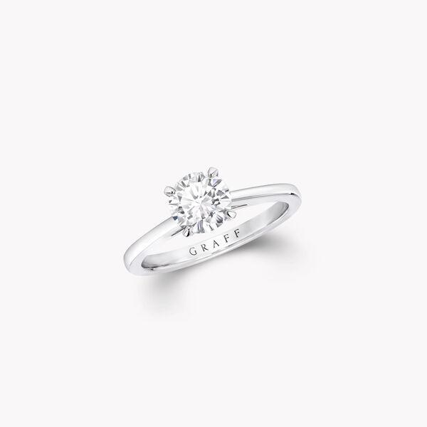 파라곤 라운드 다이아몬드 인게이지먼트 링, , hi-res