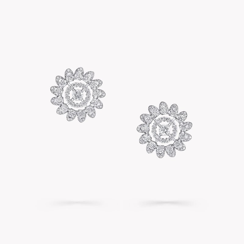 Graff Gateway Pavé Diamond Stud Earrings, , hi-res