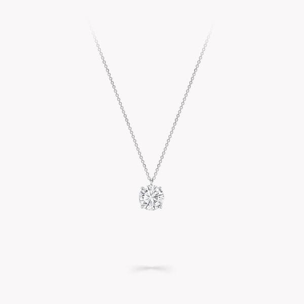 Pendentif rond en diamants, , hi-res
