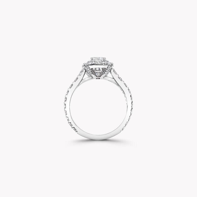 Bague de fiançailles Icône en diamant taille émeraude, , hi-res