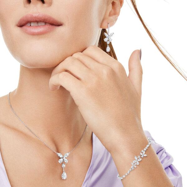 Classic Butterfly Diamond Bracelet, , hi-res