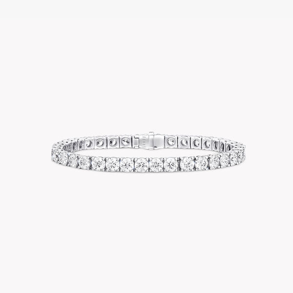 Round Diamond Bracelet, , hi-res