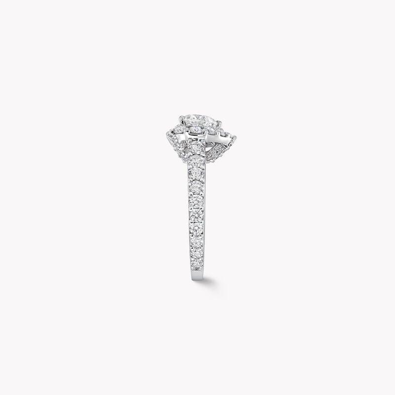 Icon Heart Shape Diamond Engagement Ring, , hi-res