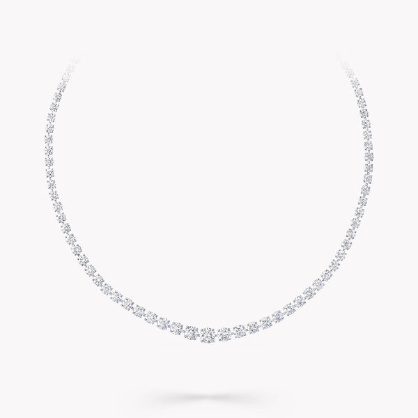 圓形鑽石項鏈, , hi-res