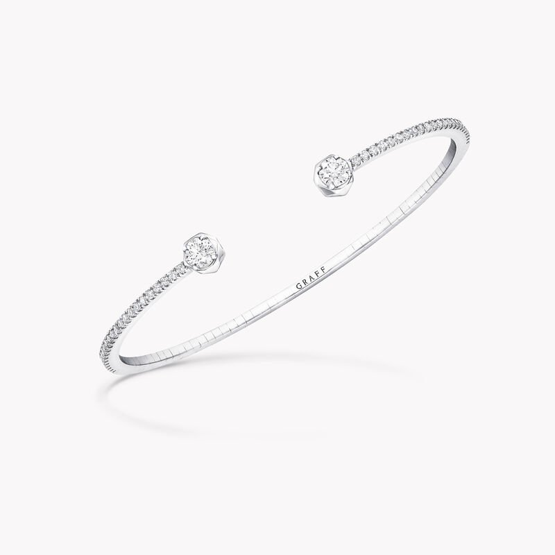 Laurence Graff Signature Open Diamond Bangle, , hi-res