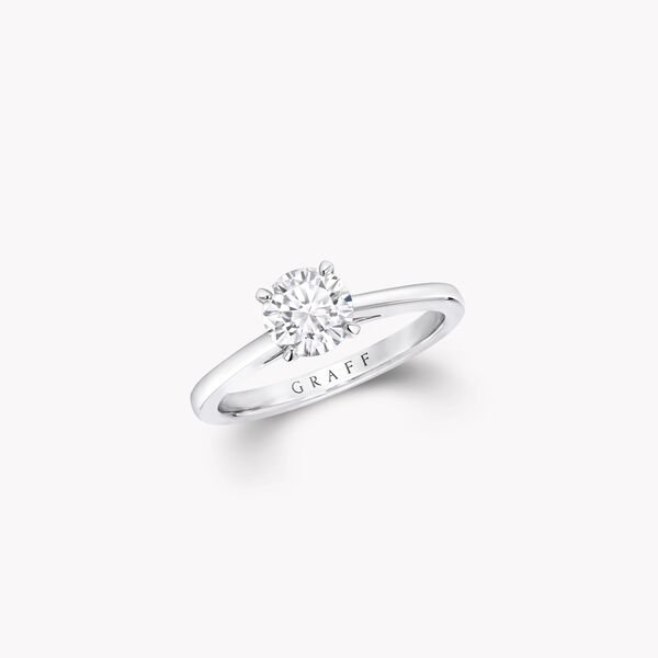 Paragon Round Diamond Engagement Ring, , hi-res