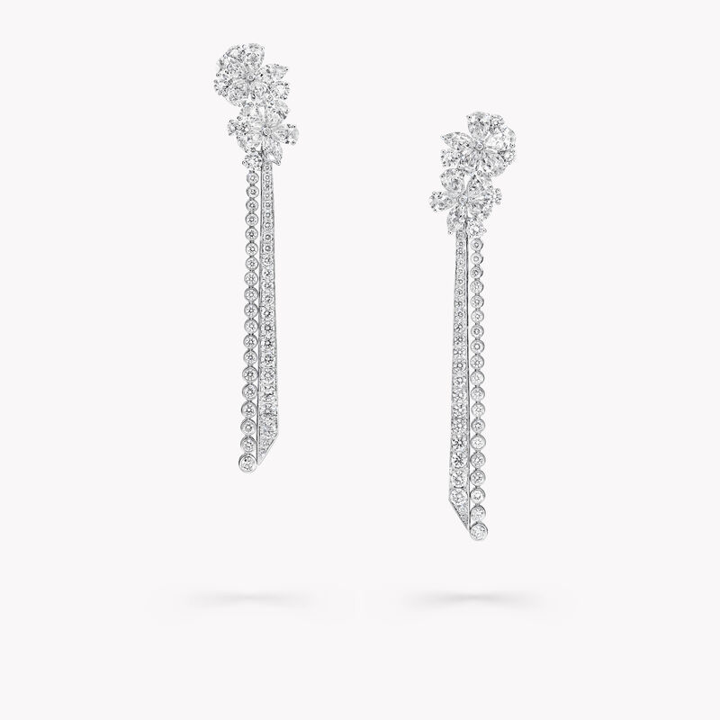 Carissa Diamond Drop Earrings, , hi-res