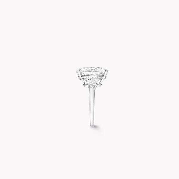 Bague de haute joaillerie en diamants taille coussin, , hi-res