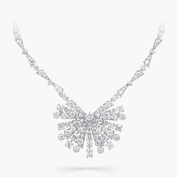 Solar Diamond High Jewellery Necklace, , hi-res