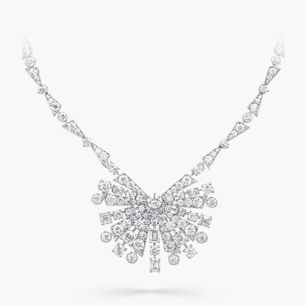 솔라 다이아몬드 하이 주얼리 네클리스, , hi-res
