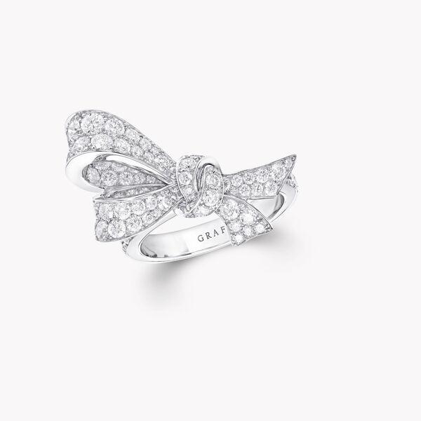 Tilda's Bow Diamond Ring, , hi-res