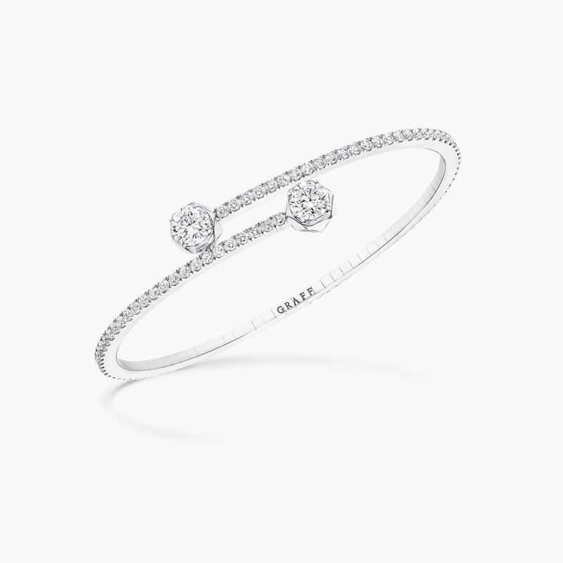 Laurence Graff Signature Wraparound Diamond Bangle, , hi-res