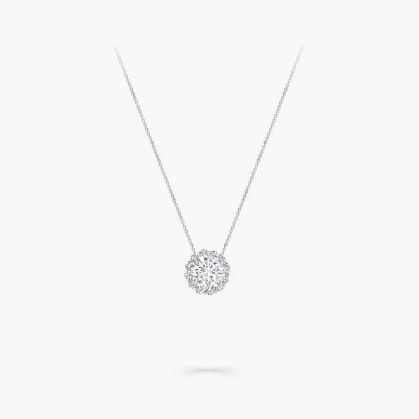 Pendentif rond en diamants Icon, , hi-res