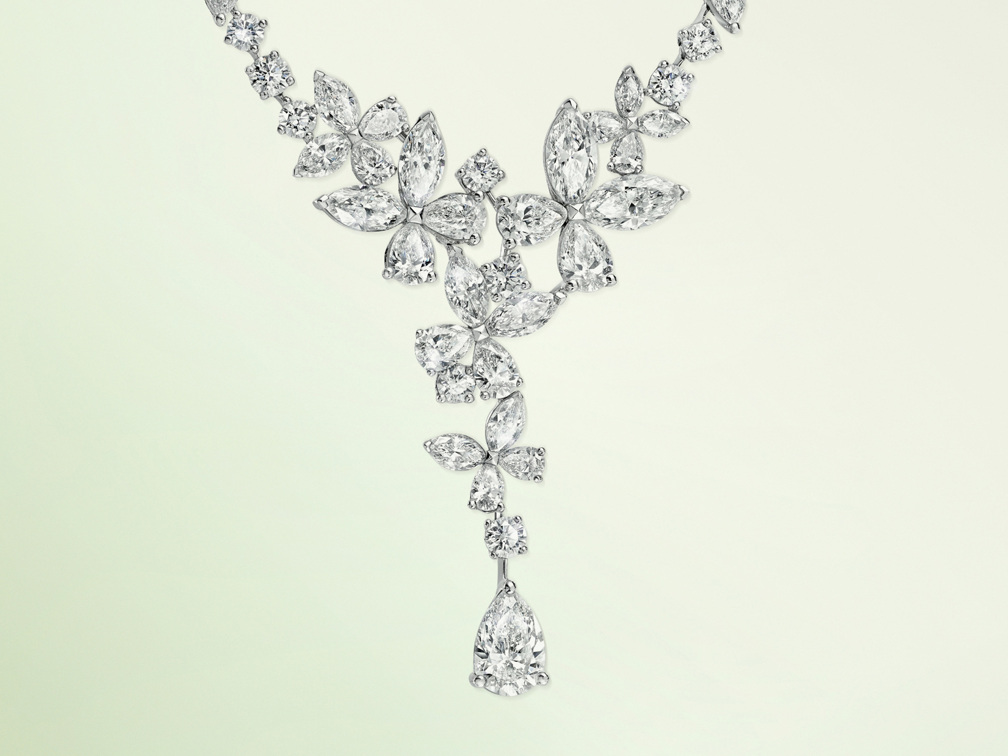 Graff Classic Butterfly Diamond Necklace from the Graff jewellery collection